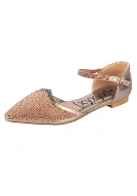 Ballett slipper, gold
