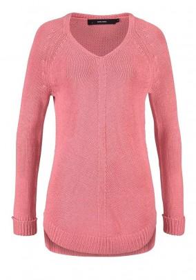 VERO MODA rožinis megztinis