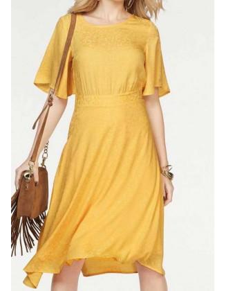 Geltona VERO MODA suknelė