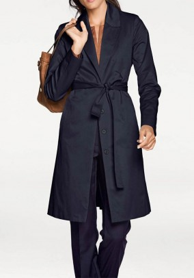 Trenchcoat, midnight blue