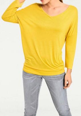 Laisvo modelio geltona palaidinė