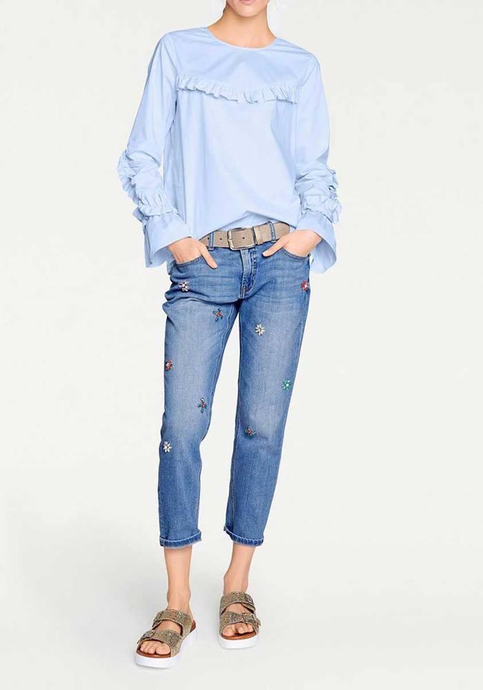 ca1ee16ea113e Ruffle blouse