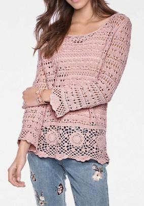 Nerto megztinio ir palaidinės komplektas