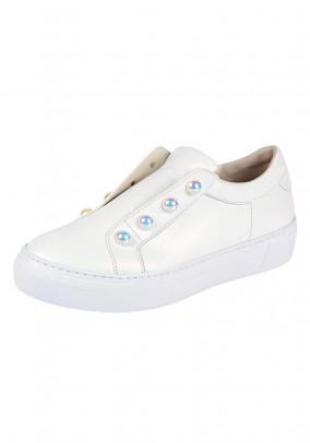 Slipper, white