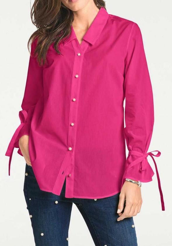 """Rožiniai marškiniai """"Nice"""""""