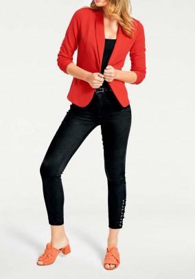 Jersey blazer, orange