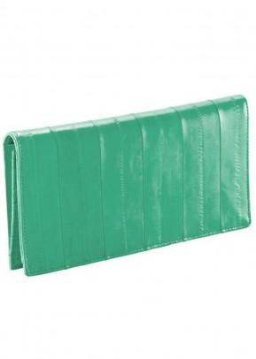 Wallet, emerald green