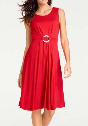 """Raudona suknelė """"Viola"""""""