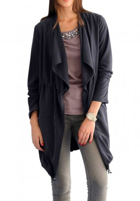 Coat, dark blue