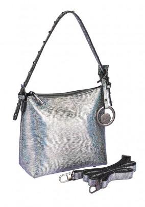 Bag, silver coloured