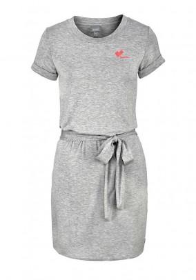 Jersey dress, grey blend