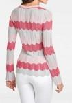 """Koralinis megztinis """"ZigZag"""""""