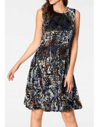 """Aksominė suknelė """"Burno"""""""