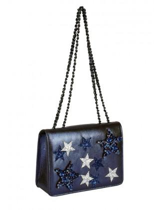 """Tamsiai mėlyna rankinė """"Star"""""""