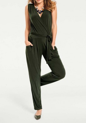 Jersey overall, olive