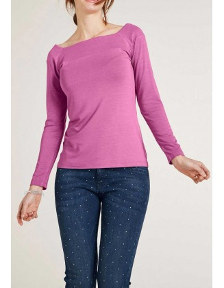 Violetiniai marškinėliai
