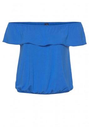 Carmen shirt, blue