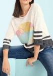 Marškinėliai su flamingais