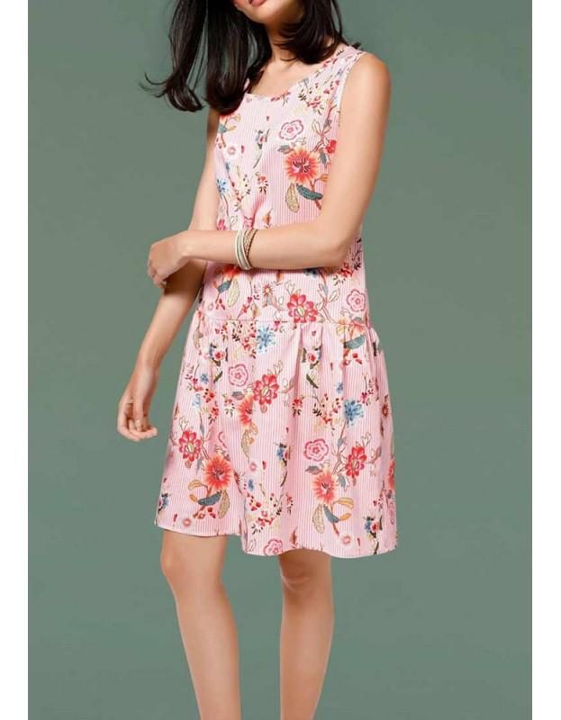 Gėlėta vasaros suknelė