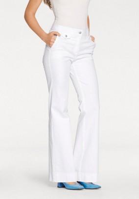 Jeans, white