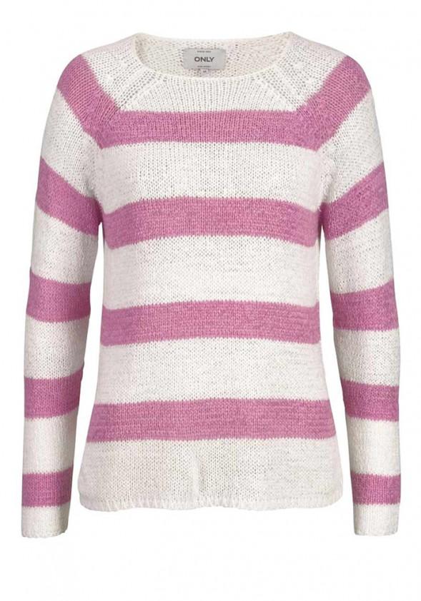 Dryžuotas ONLY megztinis