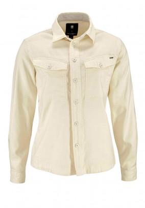 Denim blouse, offwhite