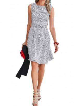 "Balta dryžuota suknelė ""Zebra"""