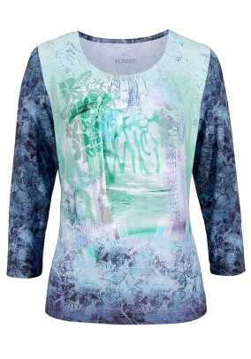 Print shirt, multicolour