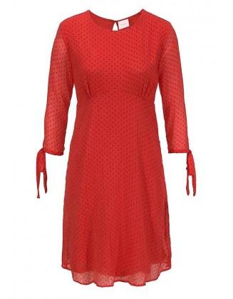 Raudona VILA suknelė