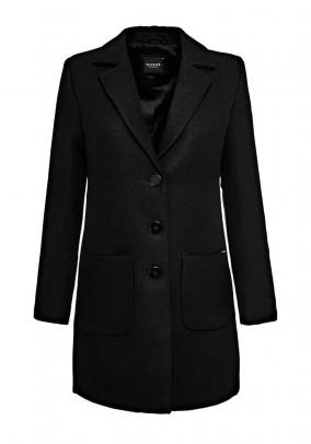 Juodas GUESS paltas