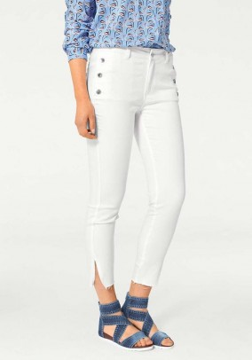 Skinny jeans, white