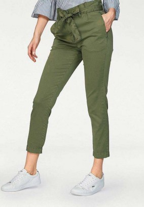 Trousers, olive