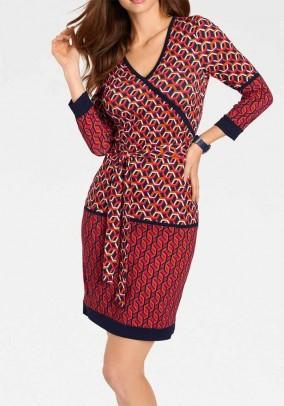 Optimizing print dress, multicolour