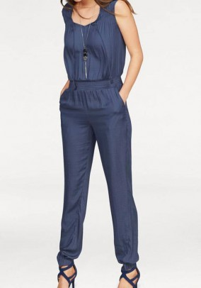 Jumpsuit, denim blue