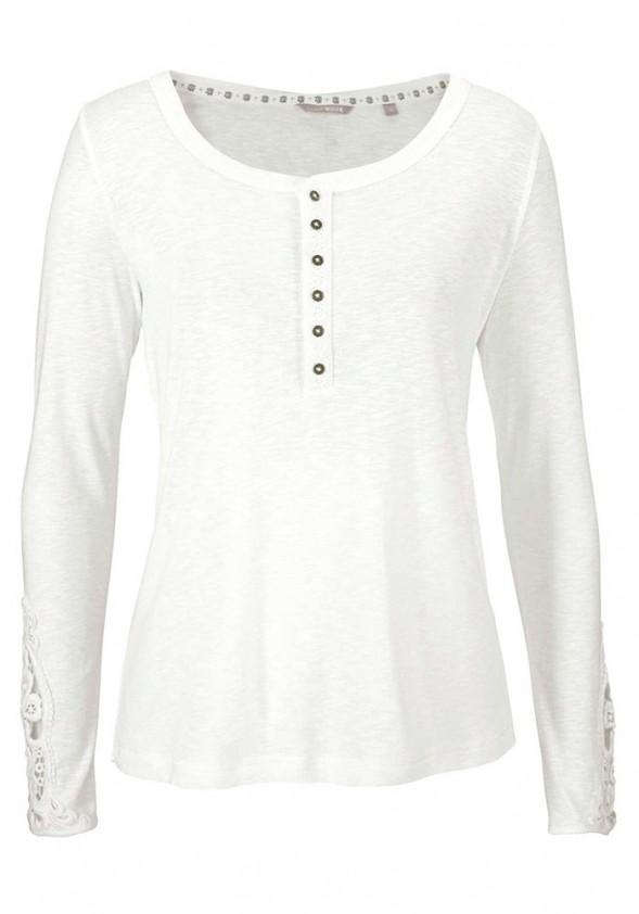 Balti MUSTANG marškinėliai