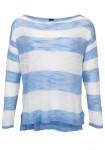 Mėlynas dryžuotas megztinis