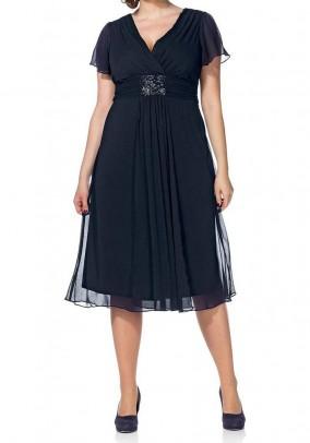 Mėlyna Sheego kokteilinė suknelė