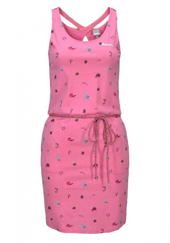 Rožinė BENCH suknelė