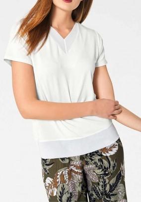 """Balti marškinėliai """"Ecru"""""""