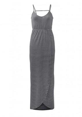 Shirt dress, grey-white