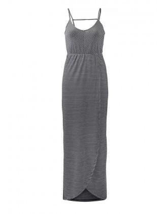 Superdry ilga dryžuota suknelė