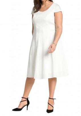 Balta Sheego suknelė