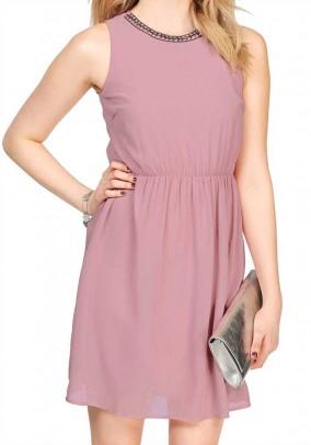 """Rausva Vero moda suknelė """"Denice"""""""