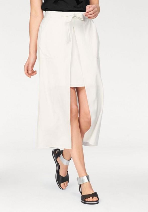 Originalus baltas ilgas sijonas. Liko 36 dydis