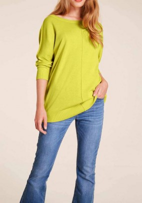 Oversize sweater, lime