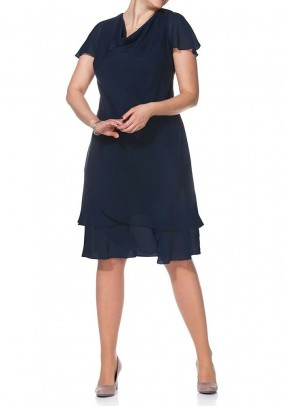 Mėlyna sluoksniuota Sheego suknelė