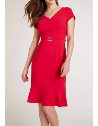 Klasikinė raudona suknelė