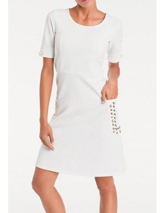 Balta elegantiška suknelė