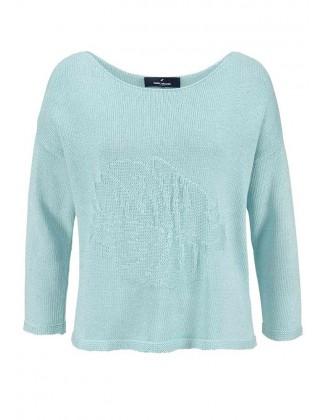 DANIEL HECHTER melsvas megztinis