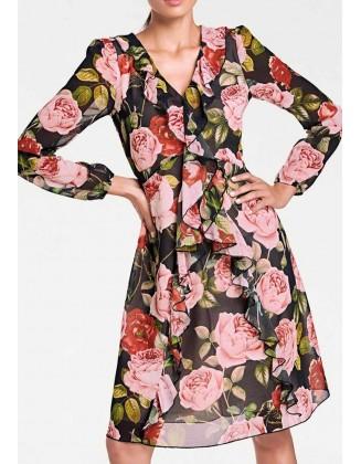 "Gėlėta suknelė ""Charlot"""